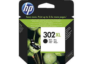 HP HP 302 XL Black Original Ink Cartridge - (F6U68AE)