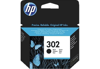 HP HP 302 Black Original Ink Cartridge - (F6U66AE)