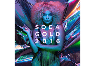 VARIOUS - Soca Gold 2016 - (CD + DVD Video)