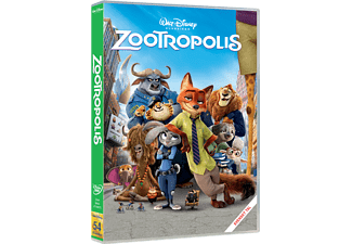 Zootropolis Animation / Tecknat DVD
