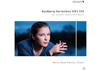 Marie Rosa Günter - Goldbergvariationen - (CD)
