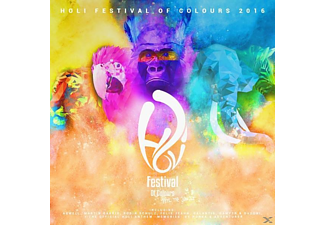 VARIOUS - Holi Festival Of Colours 2016 - (CD)