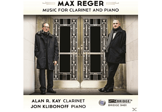 Alan R. Kay - Music For Clarinet And Piano - (CD)