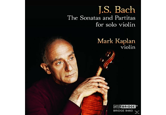 Mark Kaplan - The Sonatas And Partitas For Solo Violin [CD]