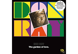 Don Ray - The Garden Of Love (LP+CD) - (Vinyl)