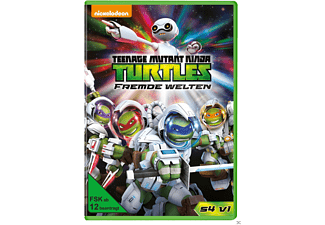 Teenage Mutant Ninja Turtles: Fremde Welten - Season 4 Vol. 1 [DVD]