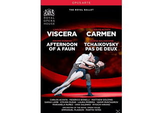 Emmanuel Plasson, Martin Yates, Orchestra Of The Royal Opera House - Viscera/Afternoon of a Faun/Ca - (DVD)