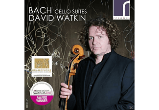 David Watkin - F Cello Suites - (CD)