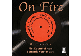 Piet Koornhof, Bernarda Vorster - On Fire: The Virtuoso Violine - (CD)