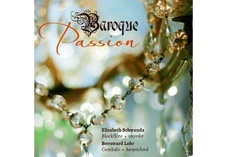 Elisabeth Schwanda, Bernward Lohr - Baroque Passion - (CD)