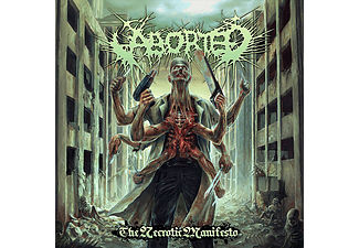 Aborted - The Necrotic Manifesto (CD)