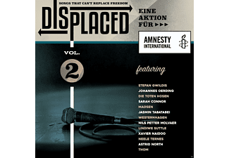 VARIOUS - (2)Displaced-Songs That Can Not Replace Freedom - (CD)