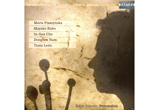 Edith Salmen - Papiermusik für Percussion - (CD)