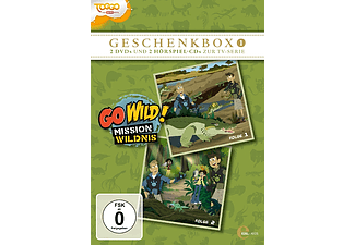 Go Wild!-Mission Wildnis - (1) Geschenkbox (2DVD+2CD) [DVD + CD]