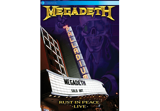 Megadeth - Rust In Peace-Live - (DVD)