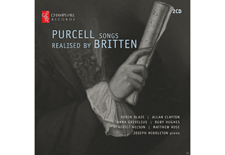 VARIOUS - Purcell Songs realised by Britten - (CD)