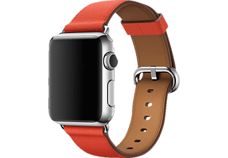 APPLE MMAN2ZM/A Classic Buckle, Ersatzarmband, Apple, Watch (42 mm Gehäuse), Rot