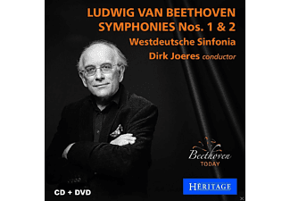 Westdeutsche Sinfonia - Sinfonien 1 & 2 - (CD + DVD Video)