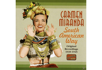 Carmen Miranda - South American Way - (CD)
