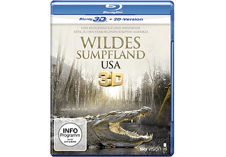 Wildes Sumpfland USA - (3D Blu-ray (+2D))