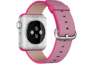 APPLE 38 mm Vävd Nylon - Rosa