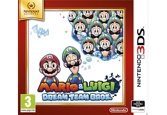 Mario & Luigi Dreamteam Bros Selects Nintendo 3DS