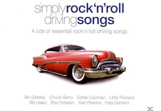 VARIOUS - Simply Rock'n Roll Driving Songs - (CD)