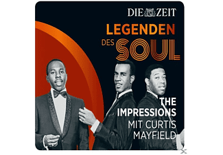 Curtis Mayfield, The Impressions - Die Zeit Edition: Legenden Des Soul - (CD)