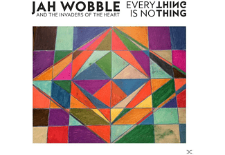 Jah Wobble and The Invaders of The Heart - Everything Is Nothing (CD)