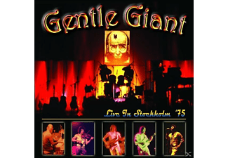 Gentle Giant - LIVE IN STOCKHOLM  75 - (CD)