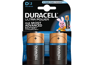 DURACELL Ultra Power D 2-pack