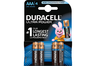 Duracell Batterijen AAA Ultra Power Duralock LR03 4 Stuks