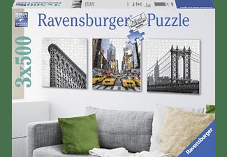 RAVENSBURGER New York City Impressionen Erwachsenenpuzzle und Zubehör, Mehrfarbig