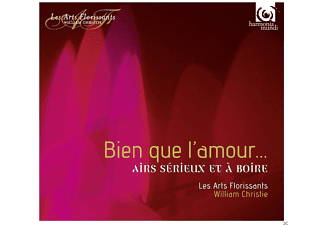 William Christie, Les Arts Florissants - Bien Que L'amour... - (CD)