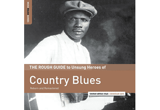 VARIOUS - Rough Guide: Country Blues - (LP + Download)