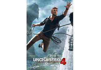 Uncharted 4 Poster A Thief's End Jump