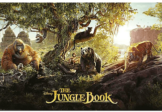 The Jungle Book Poster Panorama
