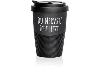 "Pechkeks Becher ""DU NERVST"" Coffee-To-Go-Becher"
