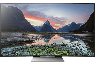 "SONY KD55SD8505BAEP 55"" Smart Curved 4K HDR-TV 100 Hz - Svart"