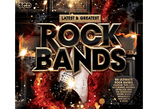 VARIOUS - Rock Bands- Latest & Greatest - (CD)