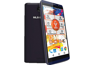 MLS iQTalk Color 4G Blue Black Dual Sim