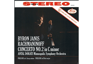 Byron Janis, Minneapolis Symphony Orchestra - Rachmaninoff: Concerto No. 2 - (Vinyl)
