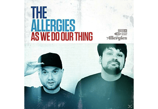 Allergies - As We Do Our Thing - (CD)