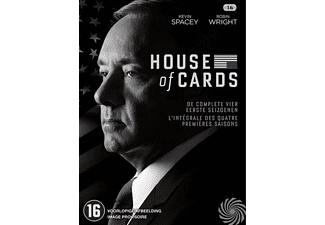 House Of Cards – Seizoen 1-4 | DVD