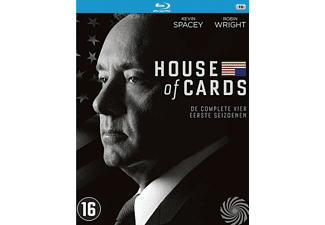 House Of Cards – Seizoen 1-4 | Blu-ray