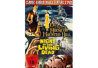 Classic Horror Double Feature: House on Haunted Hill/ Night of the Living Dead - (DVD)