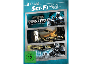 Science Fiction Movie  Night - (DVD)