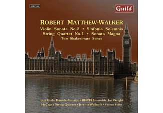 Daniele Rinaldo, Lisa Ueda, Ian Wright, Jeremy Wallbank, Yvonne Fuller, McCapra String Quartet - Robert Matthew-Walker - (CD)
