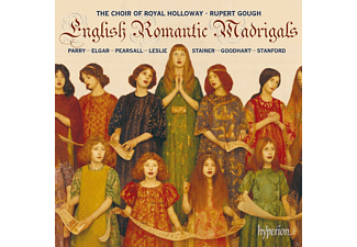 Rupert Gough, Royal Holloway Choir - English Romantic Madrigals - (CD)