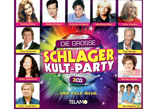 VARIOUS - Die Grosse Schlager Kult Party - (CD)